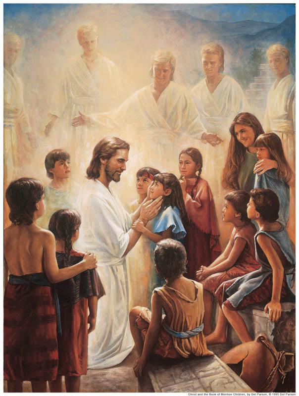 Los mormones no bautizan a infantes
