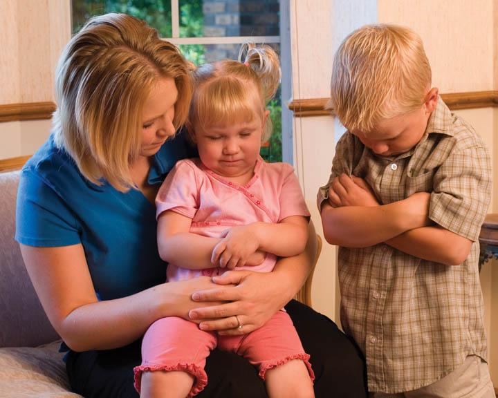 Oración con los niños