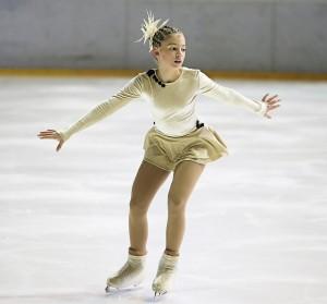 Figura patinadora Superar las pruebas
