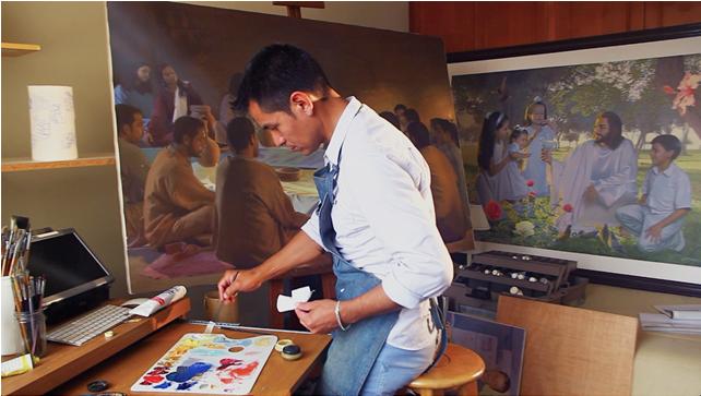 John Zamudio: famoso pintor mormón