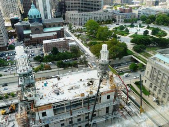 Construcción del Templo de Filadelfia crea lazos con la comunidad