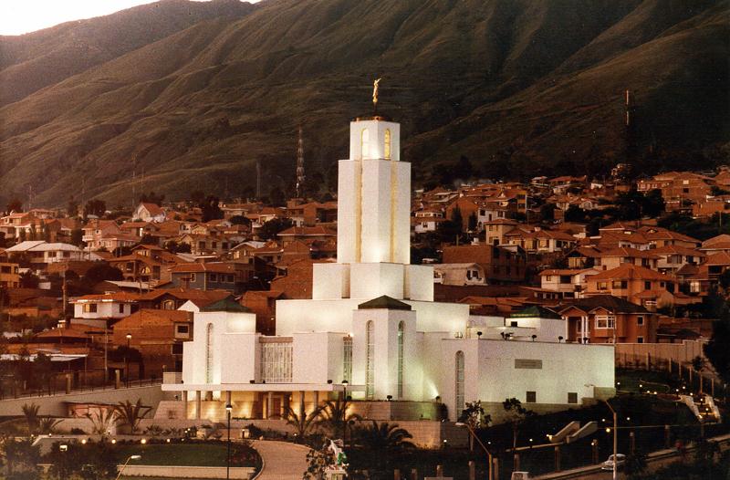 Templo de Cochabamba Bolivia