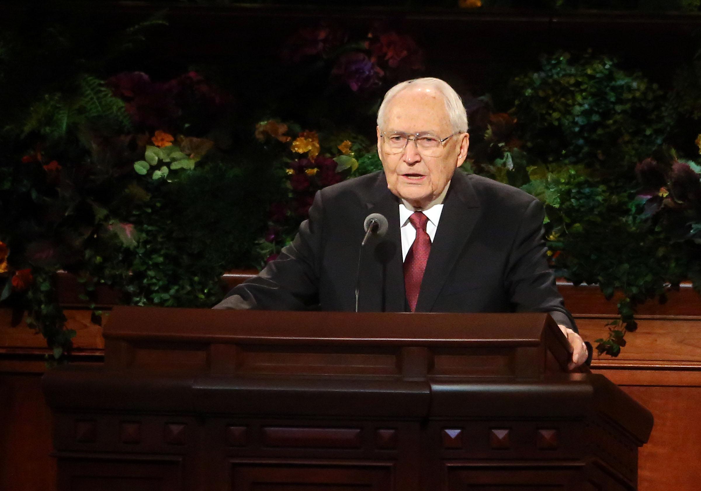 Elder L. Tom Perry fallece a los 92 años