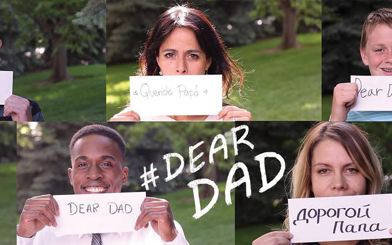 Se lanza la campaña #QueridoPapá