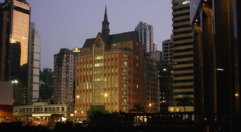 La súper capilla de Wanchai, Hong Kong