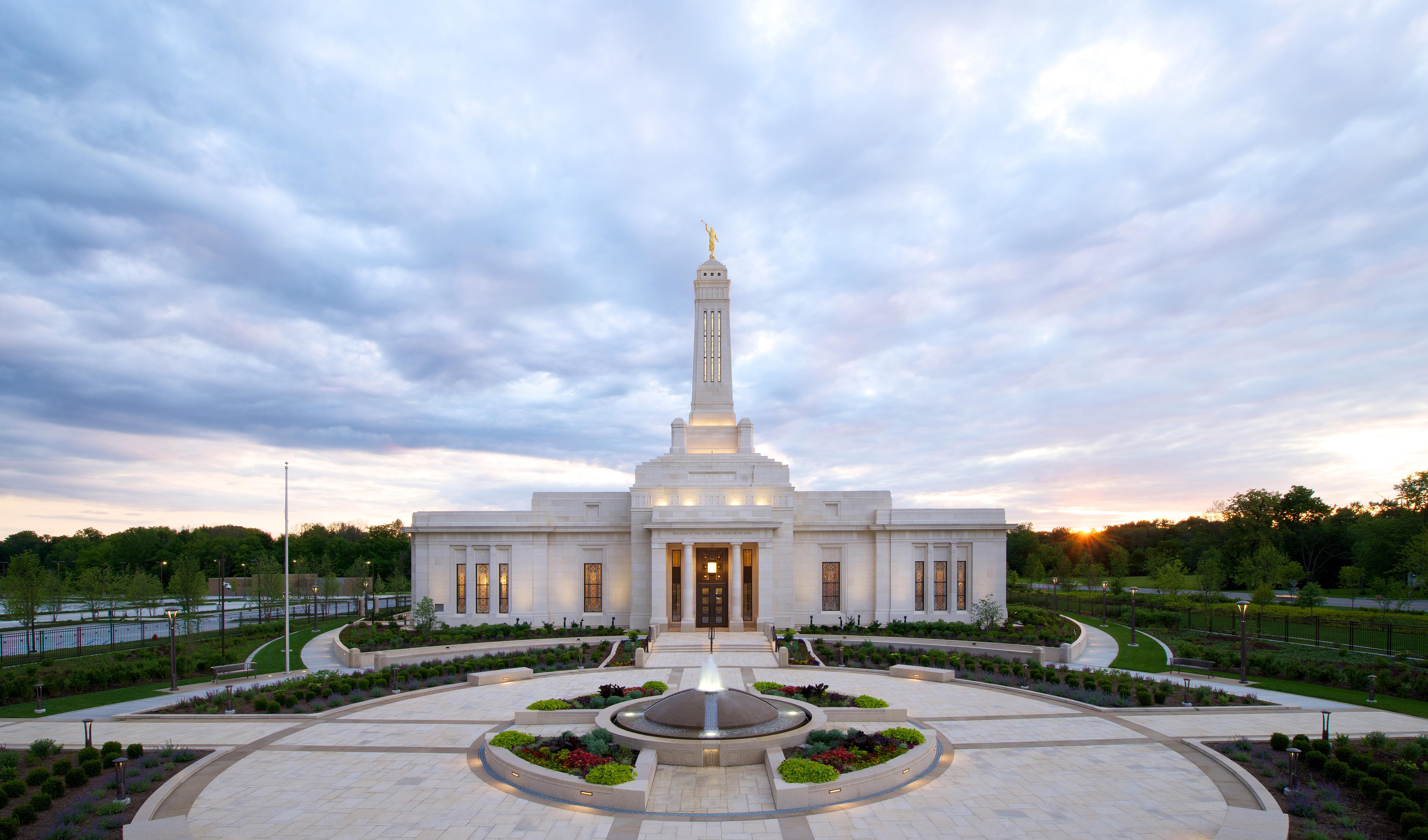 FOTOS: Conoce el nuevo Templo de Indianopolís