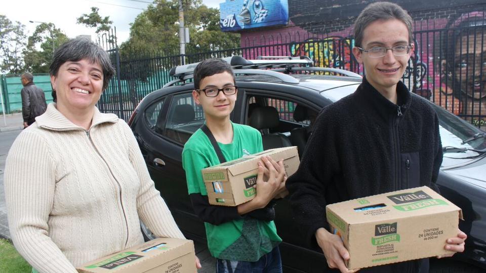 donaciones de alimentos