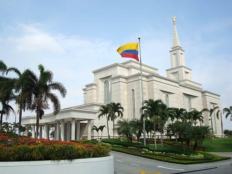 Mormones celebran 50 años en Ecuador