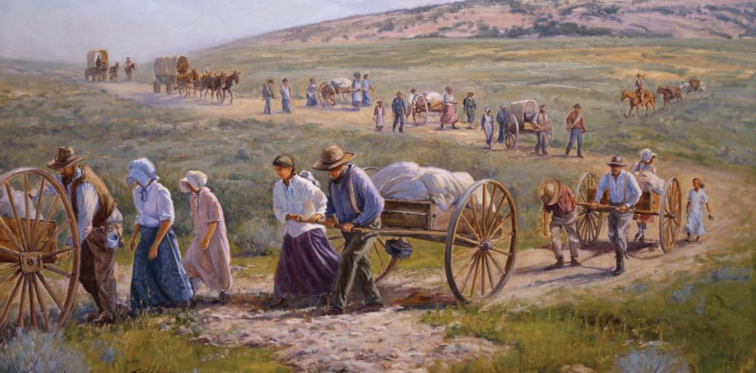 11 cosas que no sabías de los Pioneros mormones