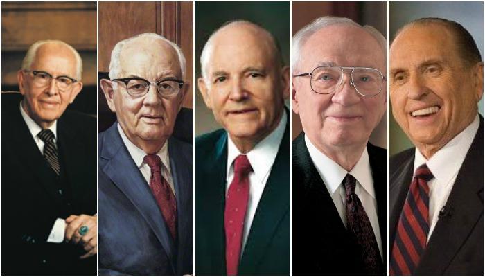 Cuando los 5 Presidentes de la Iglesia fueron llamados apóstoles