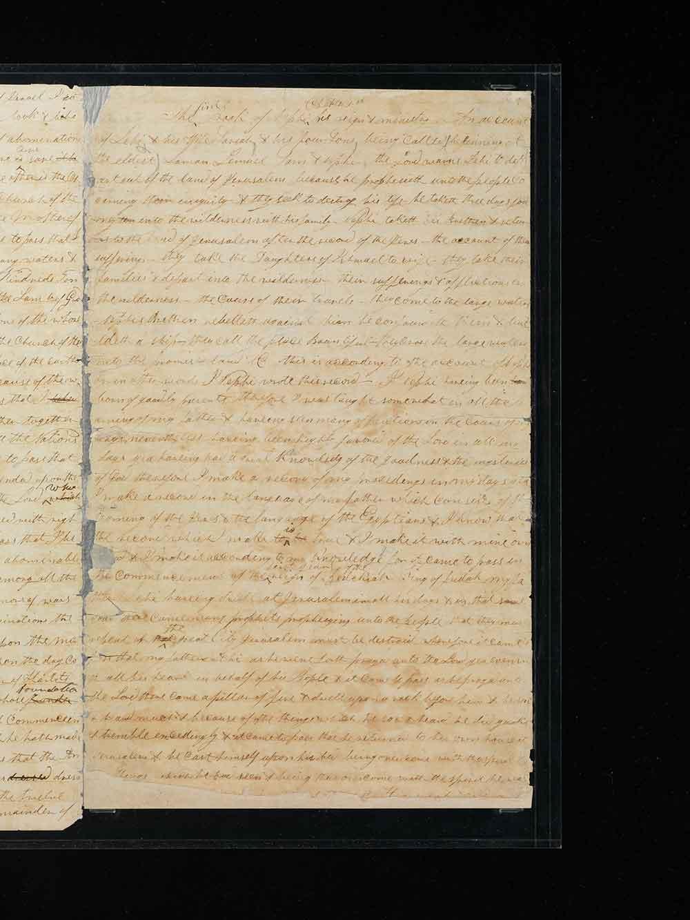 manuscritos del Libro de Mormón