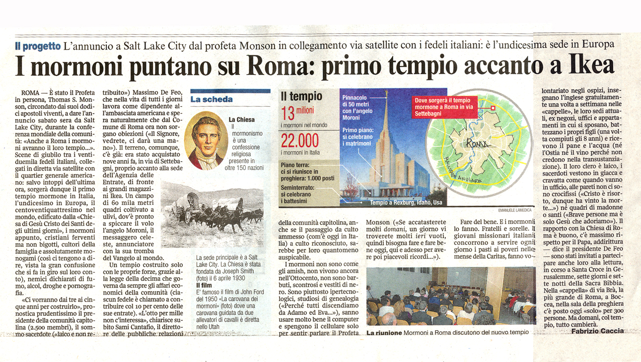 templo de roma italia
