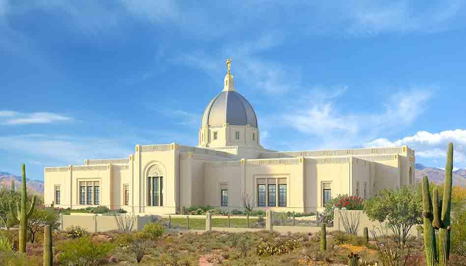 Templo de Tucson Arizona: Se anuncia fecha de la Palada Inicial