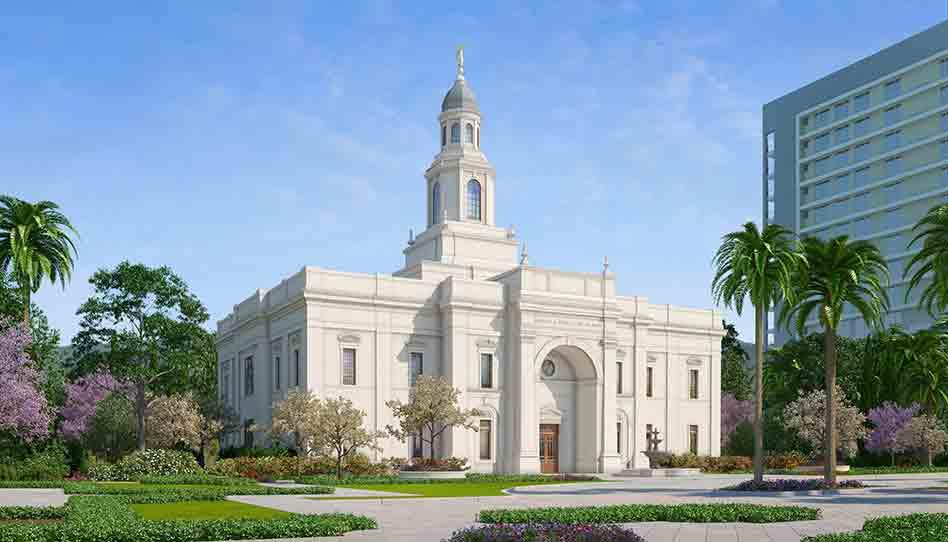 Templo de Concepción Chile: Se anuncia la Palada Inicial