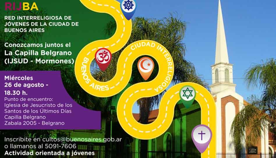 La Red Interreligiosa de Jóvenes de la ciudad de Buenos Aires visita el Instituto SUD