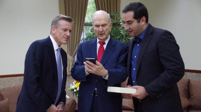 Presidente Nelson se reúne con asesor de la Presidencia de Honduras