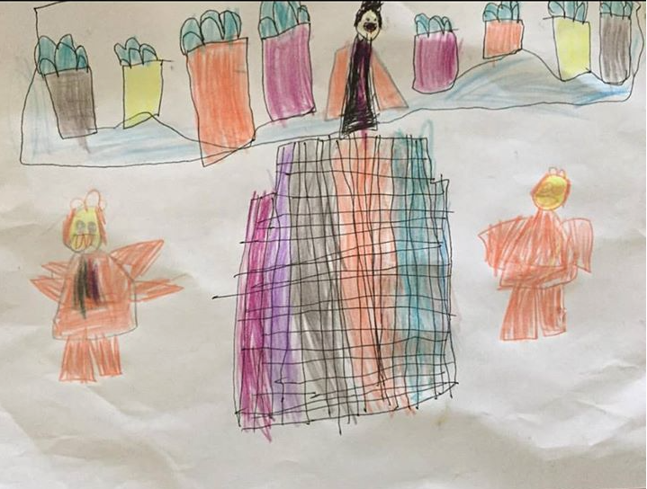 Los niños ven ángeles apoyando al Presidente Monson