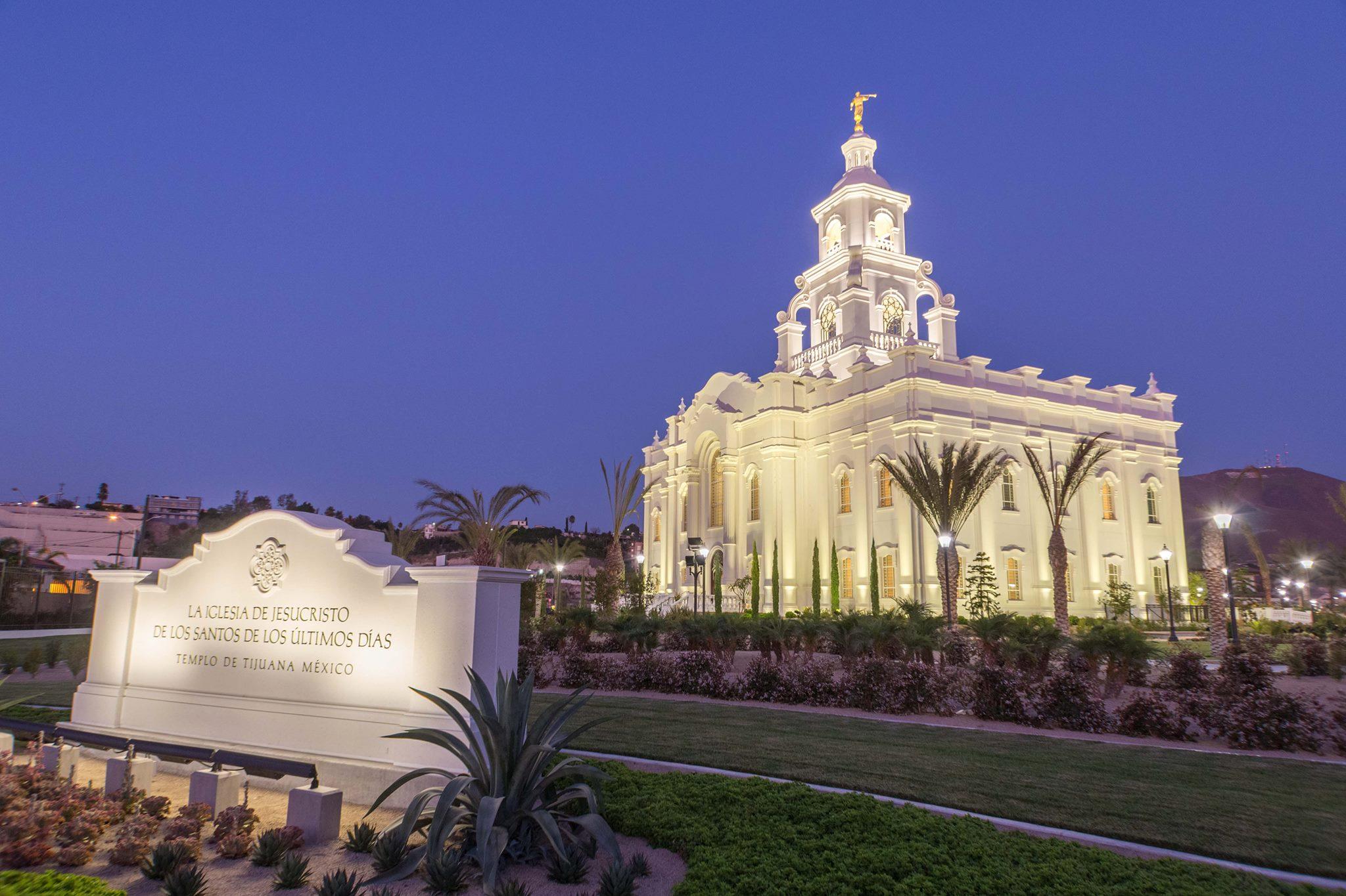 Templo de Tijuana: el 13 de noviembre comienza la puertas abiertas