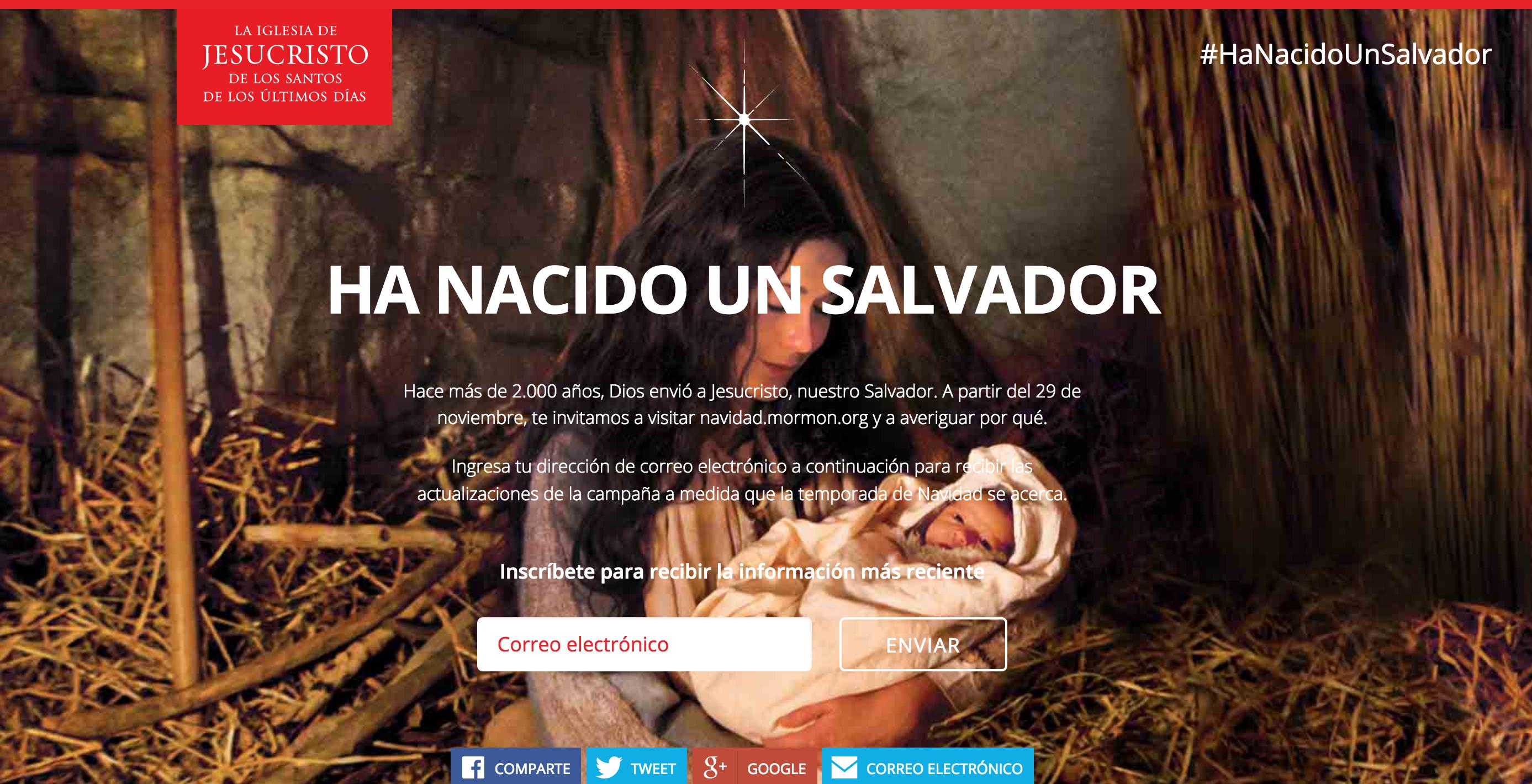 Ha Nacido un Salvador un vídeo para compartir