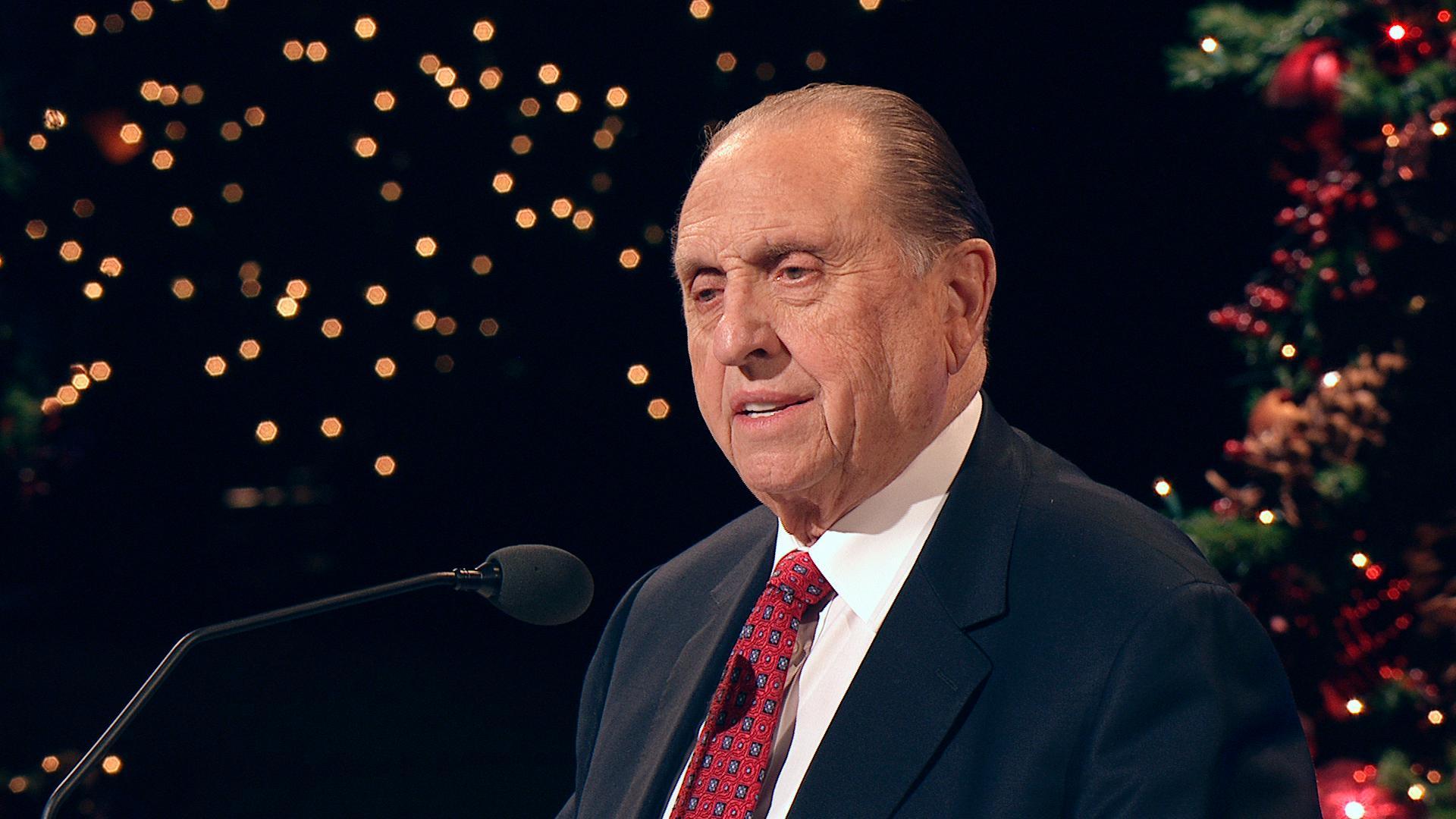 Lo que piensa el profeta mormón  de la Navidad