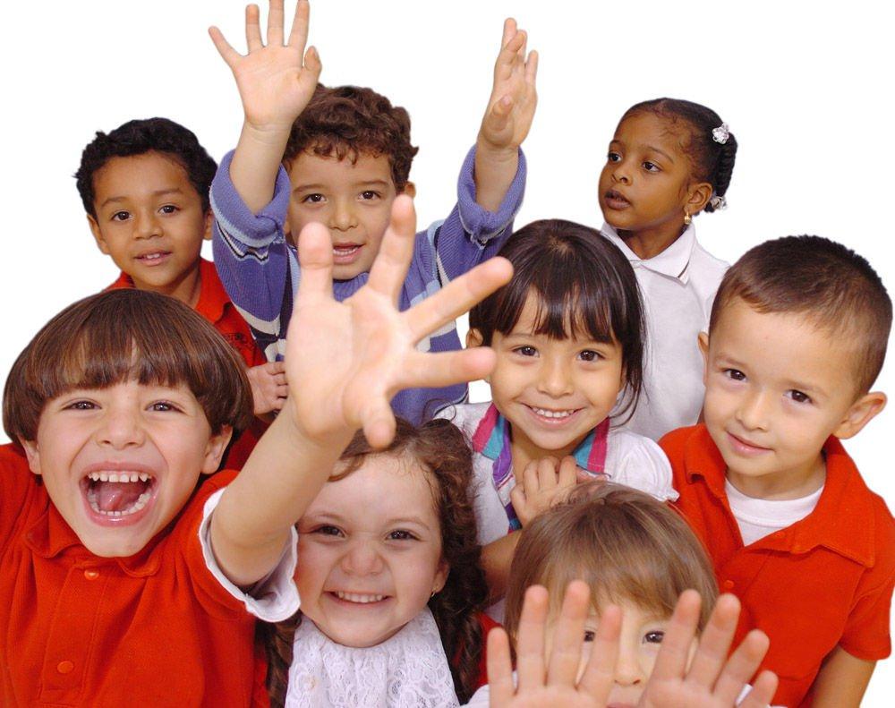 niños de la Primaria de Iglesia