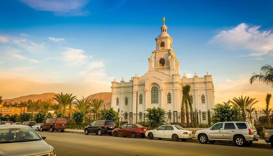 Más de 71,000 personas visitáron el templo de Tijuana