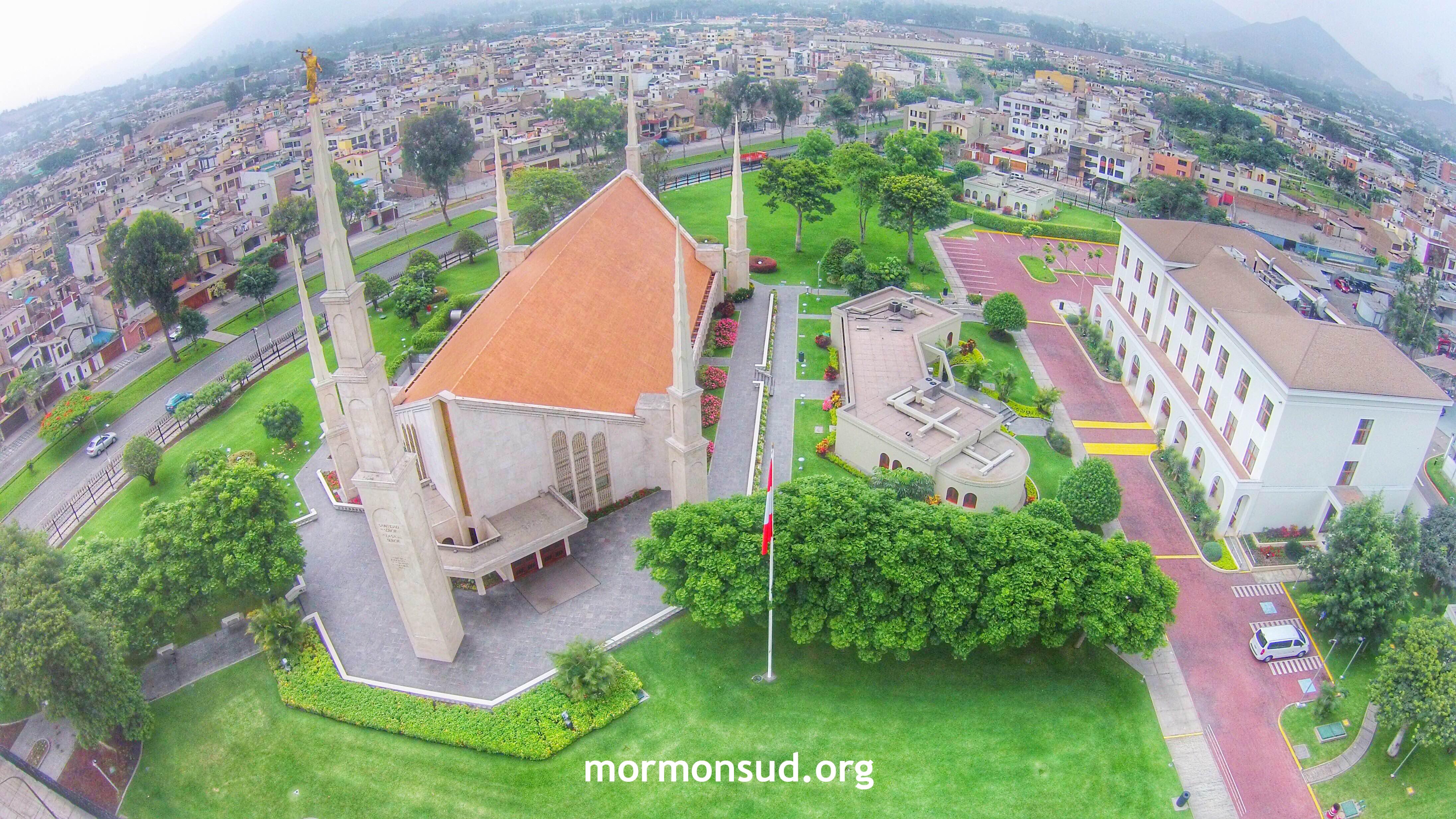 Templo de Lima Perú, ya tiene 30 años desde su dedicacón