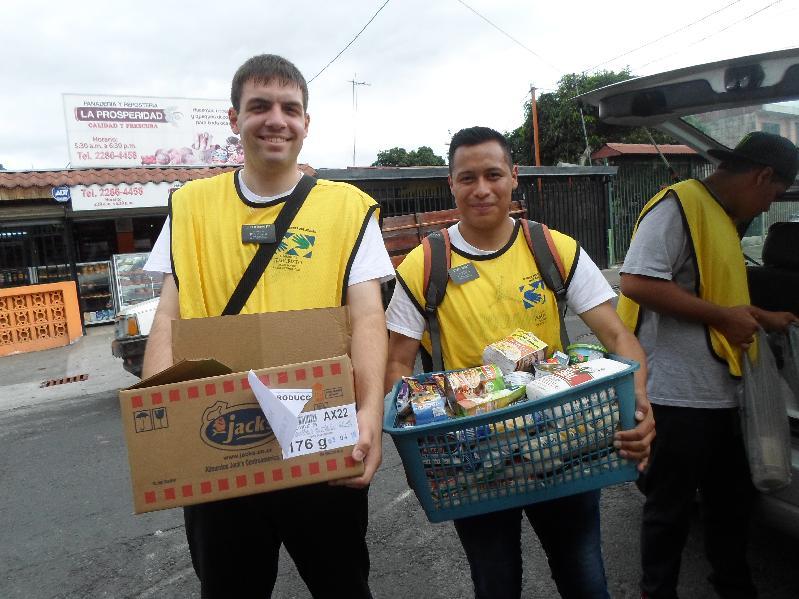 Mormones en Costa Rica prestan ayuda en el Dia Nacional del Servicio