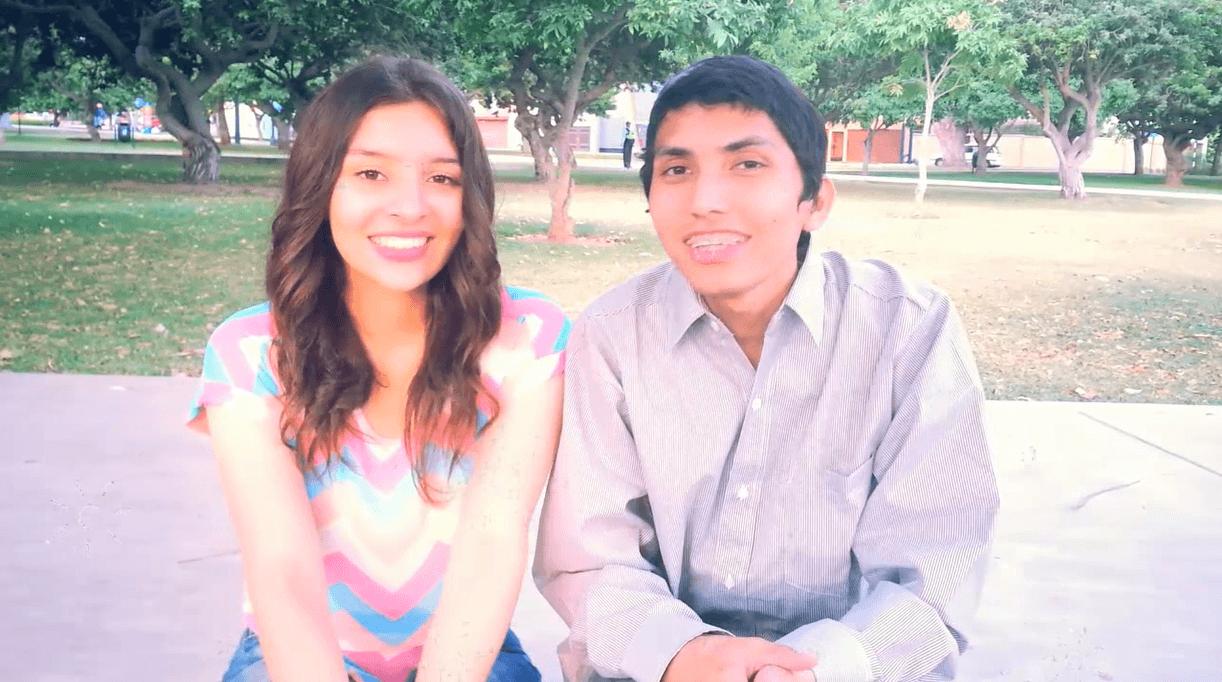 Alfredo y Bárbara, un matrimonio joven