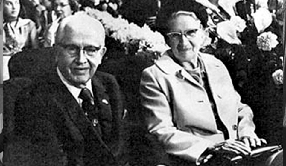 Ezra Taft Benson and Flora Amussen Benson