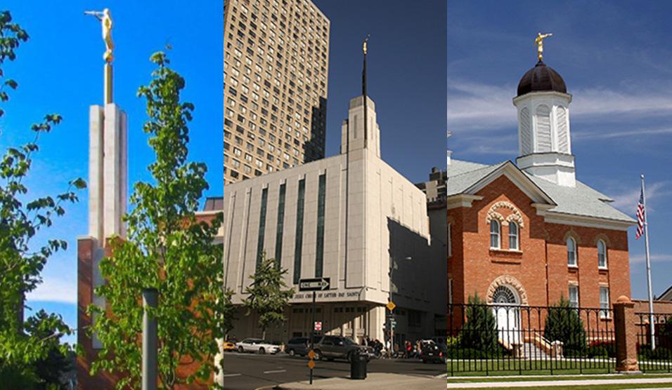 3 Templos mormones construidos de edificaciones ya existentes