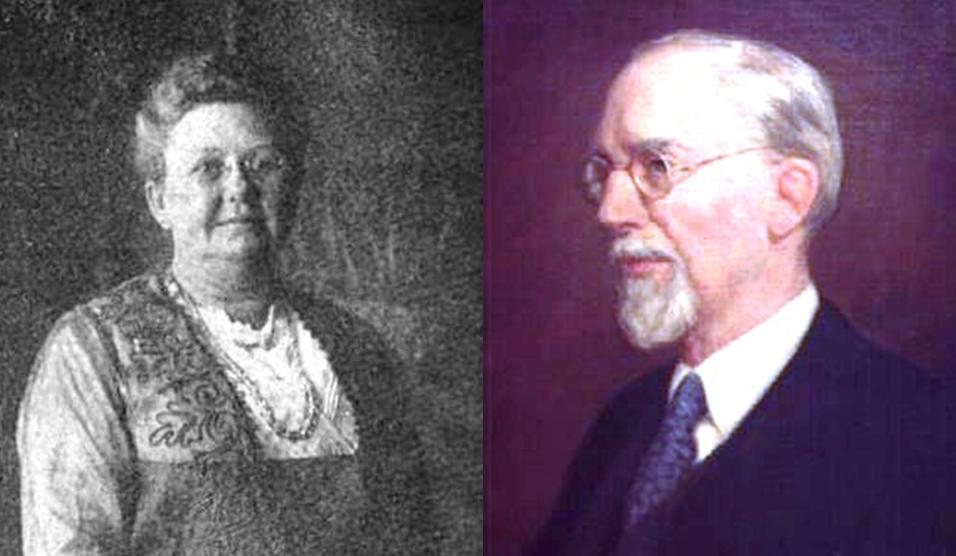 George Albert Smith y Lucy Emily Woodruff Smith