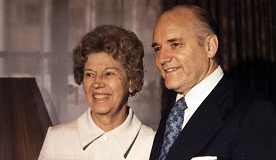 Howard W and Clara Hunter