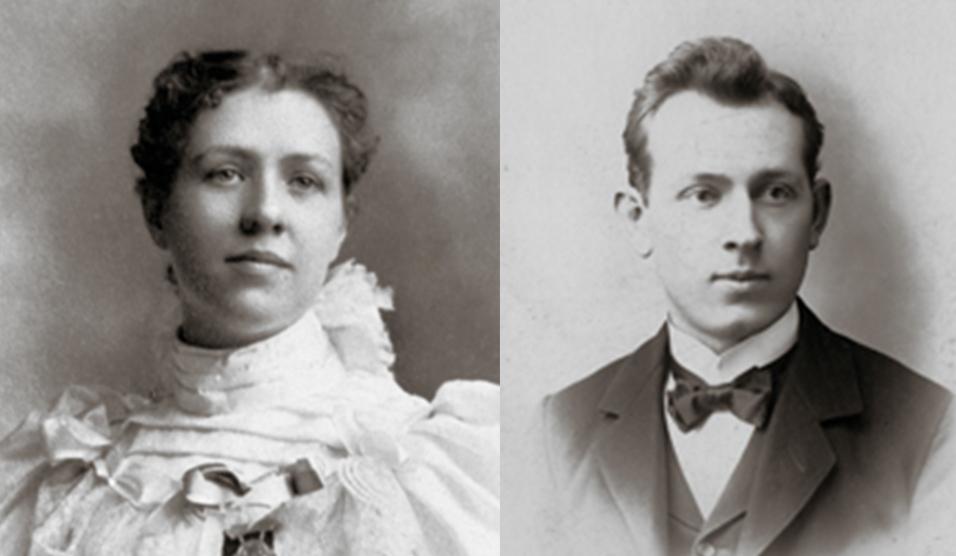 Joseph Fielding Smith y Louie Emily Shurtliff Smith
