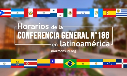 Horarios de la Conferencia General N 186 en Latinoamérica