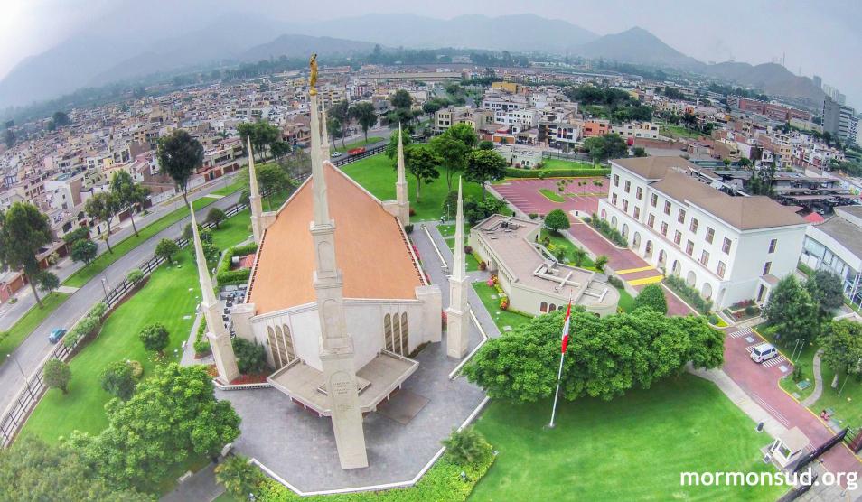 segundo Templo mormón en Lima Perú