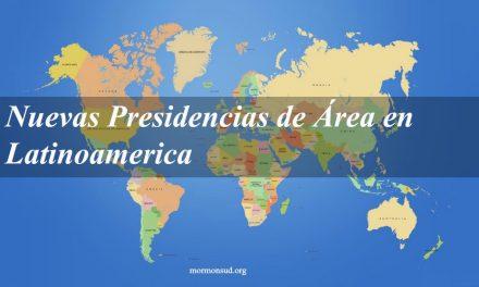 Se anuncia cambios en las Presidencias de Áreas de Latinoamérica
