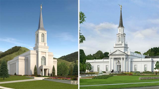 Dos nuevos templos serán dedicados en Estados Unidos