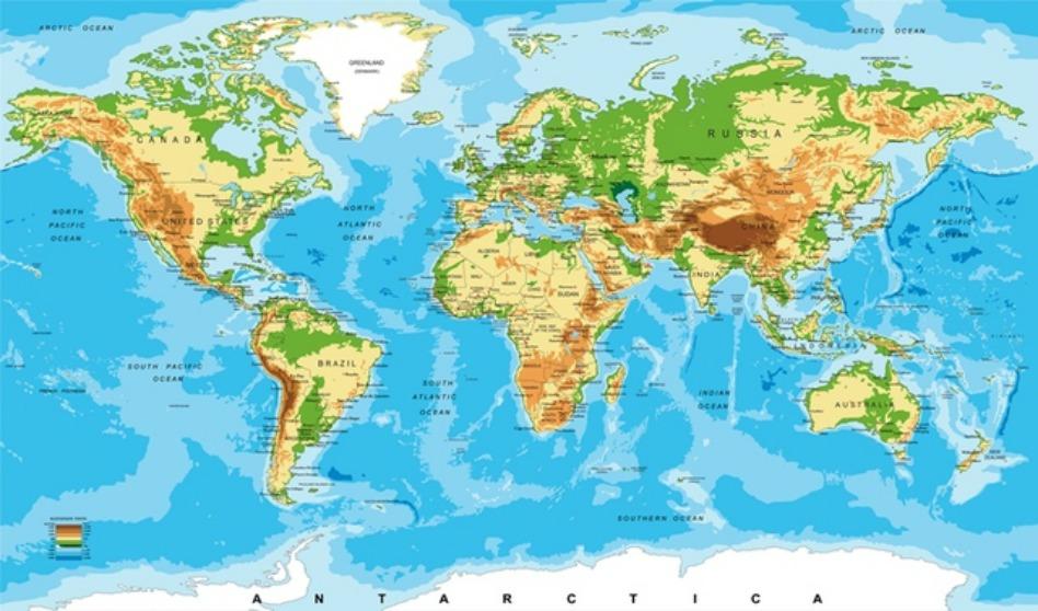 Lista de los 4 países con más mormones