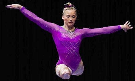 Gimnasta mormona se prepara para las pruebas de las Olimpiadas de Río de Janeiro