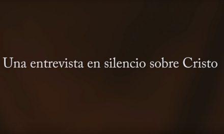 Vídeo captura testimonios en silencio sobre Cristo