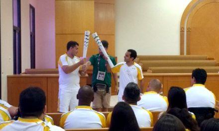 Antorcha Olímpica de Rio 2016 pasa por Iglesia mormona