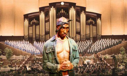 ¿Tupac en vivo en el Tabernáculo de Salt Lake?