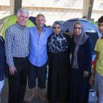 Presidente Uchtdorf visita a refugiados