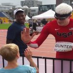 Atleta SUD juegos paralímpicos