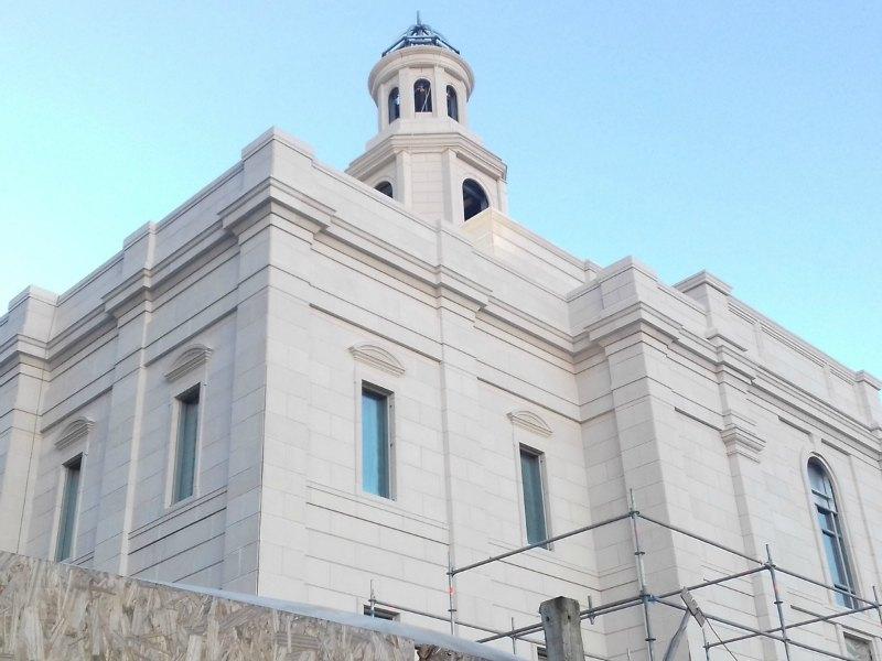 edificación del Templo de Concepción