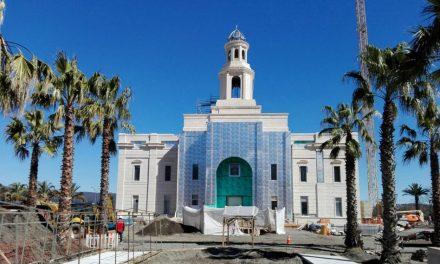 Así va la construcción del templo mormón de Concepción, Chile