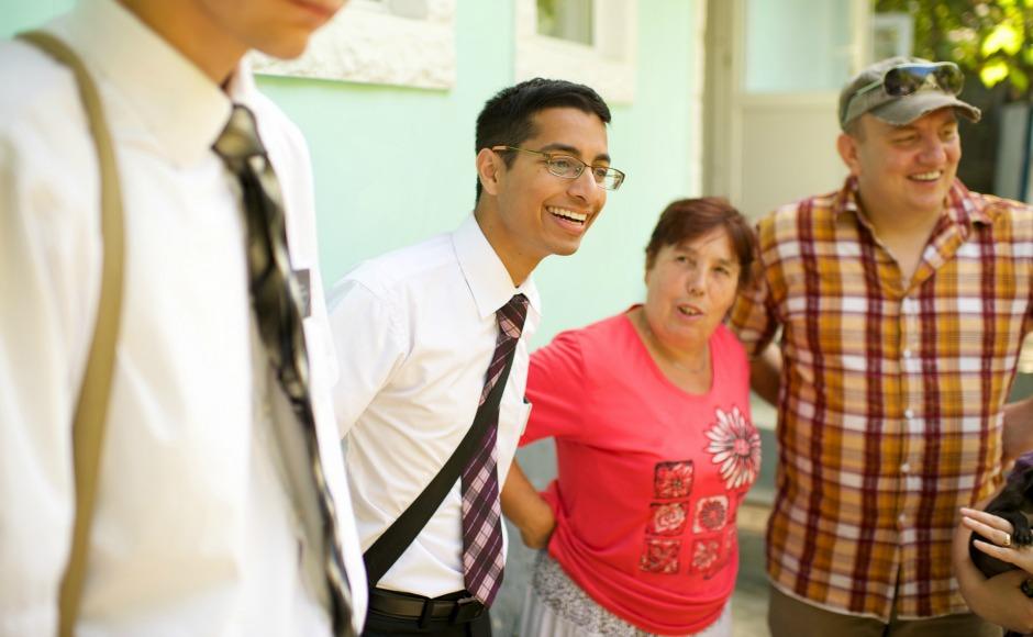 un misionero cuando regresa