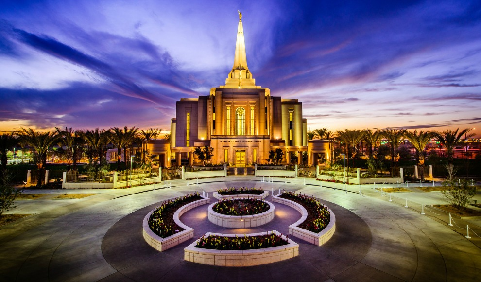 Templos mormones gilbert arizona