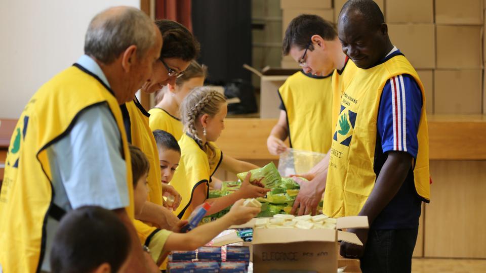 La Iglesia de Jesucristo - ayuda humanitaria